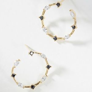 Jewelry - NWT Anthropologie Hoops